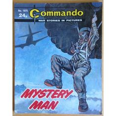 Commando Comic Picture Library #1975 War Action Adventure