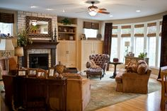Family Room Interior Design   Interior Design - It's Time For Your Accessory Call! - Linly Designs