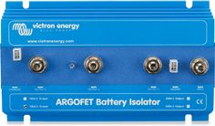 Allow for simultaneous charging of two or more batteries from one alternator using the Argo FET Battery Isolator. Argo, Campervan