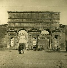 Roma C 1900 Porta Maggiore Italy Pictures, Old Pictures, Old Photos, Rome Architecture, Victorian Photos, Roman History, Vintage Italy, Dutch Painters, Ancient Rome