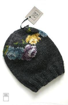 Flower beanie. ELA K