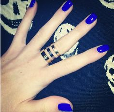 Cartier Love Ring love the color polish too