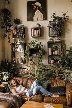 Bohemian Bedroom Decor, Boho Living Room, Living Room Decor, Boho Decor, Earthy Bedroom, Dining Room, Earthy Home Decor, Bohemian Interior Design, Bohemian Room