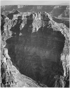 "View From ""North Rim, 1941, Grand Canyon National Park,"" Arizona by Ansel Adams"