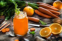 C-vitaminban gazdag immunerősítő turmixok: most jól jönnek ezek a receptek Vitamin C, Carrots, Vegetables, Food, Life, Carrot, Meal, Eten, Vegetable Recipes