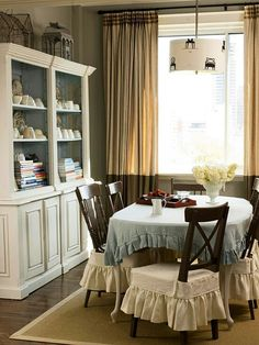 Dining Chairs, Dining Rooms, Kitchen Dining, Dining Decor, Shabby Chic,  Small