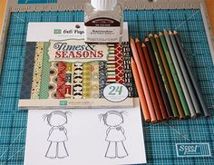Introducing MFT Academy – Class Is in Session! | My Favorite Things - your guest professor today is Inge, who will be teaching you about coloring with Prismacolor Pencils.
