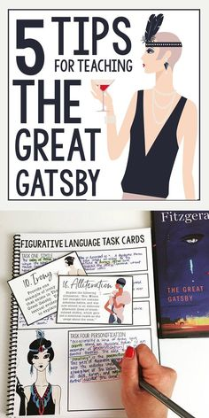 5 tips for teaching The Great Gatsby | F. Scott Fitzgerald | Middle and high school