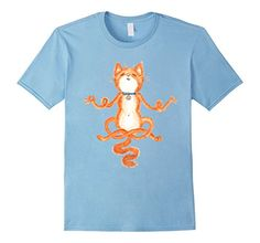 Meditation Yoga Cat t-shirt - Male Small - Baby Blue SpiceTree Designs http://www.amazon.com/dp/B0182J5ET2/ref=cm_sw_r_pi_dp_Btptwb1SZF58C