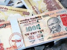 The rupee again breached the 68-mark on Thursday as it fell by 18 paise against the American currency