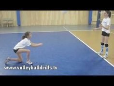 ▶ Beginner volleyball: How to pass a volleyball - YouTube