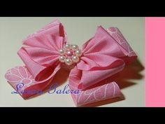 Moño artesanal para niña Handmade bow for girl Laço feito à mão para menina - YouTube
