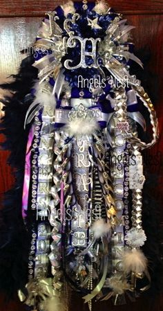 THE Gracie Mum  Lone Star High School Homecoming Mum The Ultimate Deluxe Mum Platinum Grade