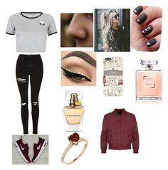 """Looking around London"" by hey-shanay on Polyvore featuring WithChic, Harrods and WearAll"
