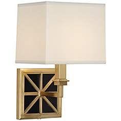 Mary McDonald Directoire Brass Wall Lamp