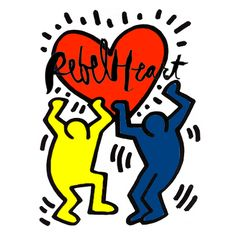 Keith Haring had a Rebel Heart! #madonna