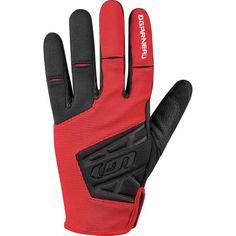 Louis Garneau Men's Montello Pro Cycling Gloves, Red