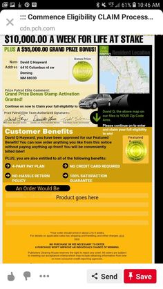 Instant Win Sweepstakes, Online Sweepstakes, Daddy Quotes, Winner Announcement, Publisher Clearing House, Gold Money, Winning Numbers, Clams, Vernon