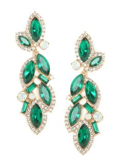 emerald marquise drops :: gorgeous!