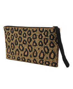 Beaded Leopard Clutch   FOREVER21 - 1008584888