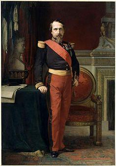 Napoleon III - Jean-Hippolyte Flandrin (1809-1864) 1872:Standing portrait of…