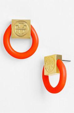 892fe1e2eac9 Tory Burch  Varden  Door Knocker Earrings available at  Nordstrom Statement  Earrings