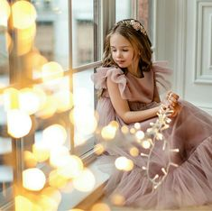 Flower girl dress, Dusty rose girl dress, Tulle blush flower girl dress, girl dress tulle, black child dress - Flower girl dress Dusty rose child dress blush flower girl image 1 Source by -
