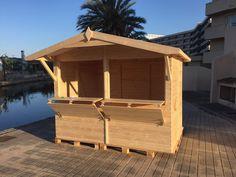 Kiosco de madera para jardin buscar con google negocio for Disenos de kioscos de madera