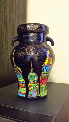 Handmade jar vase