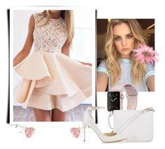 """""""Sans titre #831"""" by tva-lpz ❤ liked on Polyvore featuring WithChic, Furla and Jimmy Choo"""