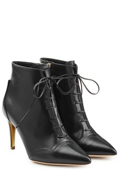 Henty Leather Ankle Boots detail 0