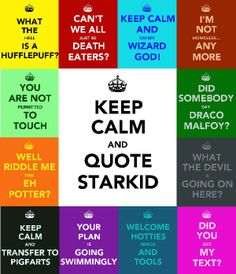 Starkids! A Very Potter Musical and A Very Potter Sequel. Quotes.