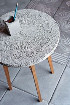 cement table top inspiration