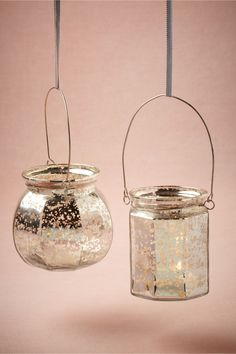 Hanging Mercury Votive from BHLDN