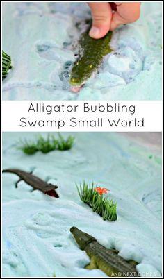 Alligator Bubbling Swamp Small World