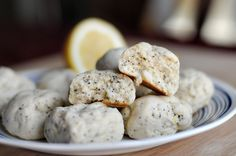 Lemon Poppyseed Cream Cheese Cookies