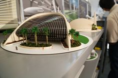 Discover recipes, home ideas, style inspiration and other ideas to try. Curve Building, Building Design, Conceptual Design, Zaha Hadid, Urban Design, Fresco, Most Beautiful Pictures, Architectural Models, Table Decorations