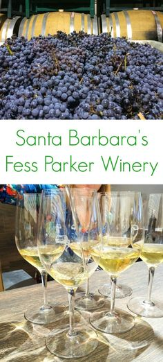 Santa Barbara's Fess Parker Winery - a must when traveling to California!