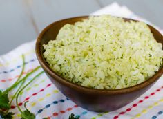 Cilantro-Lime Rice by Pink Parsley Blog, via Flickr