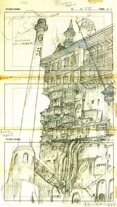 The Bathhouse - Spirited Away // Hayao Miyazaki