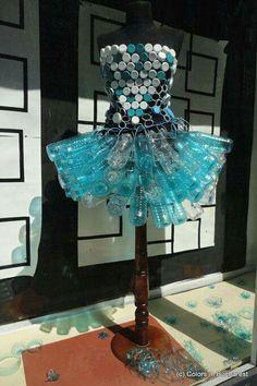 Vestido reciclable 2