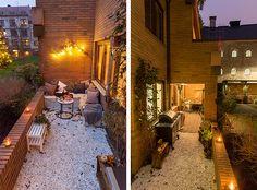 Perfecte kleine tuin voor gezellige zomeravonden | Inrichting-huis.com Terrace Garden, Sweet Home, Home And Garden, Exterior, Patio, Outdoor Decor, Instagram Posts, Home Decor, Rum