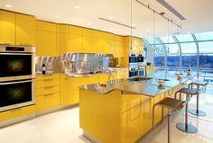 Yellow Kitchen Design Ideas | Home Design, Garden & Architecture ...