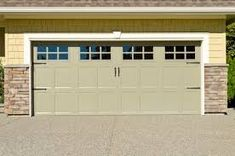 Here, is a custom Garage Door done for a homeowner in Westchester County. Custom Garage Doors, Garage Door Company, Custom Garages, Single Garage Door, Two Car Garage, Single Doors, Painted Brick Ranch, Westchester County