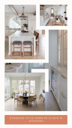 Many people fall in love with European architecture and style, but struggle to implement it into their own home. Well, this home will help show you how!#homedecor #homeinteriors #homeexteriors #homedesigns #homeideas #europeanhomes #homestyle #homielovin #homeaccessories European Style Homes, European House, Kitchen Interior, Room Interior, Handmade Home Decor, Diy Home Decor, Decor Interior Design, Interior Decorating, Farmhouse Homes