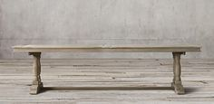 Willems Rectangular Table | Restoration Hardware- breakfast table
