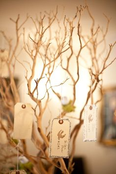 how about a wishing tree for the next year.  guests can leave their wishes on the tree.