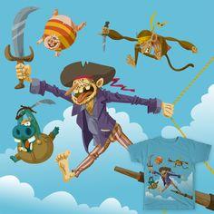Happy piracy on Threadless