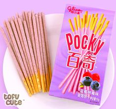 Buy Glico Pocky Double Berry Biscuit Sticks at Tofu Cute