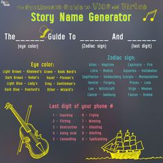 What handy dandy guide to life do you need? Use this story name generator to find out in honor of The Gentleman's Guide To Vice and Virtue. Dark brown, Aries and 0 Story Name Generator, Pen Name Generator, Random Name Generator, Writing Generator, Daily Writing Prompts, Writing Challenge, Writing Tips, Guide To Manipulation, Gentlemens Guide